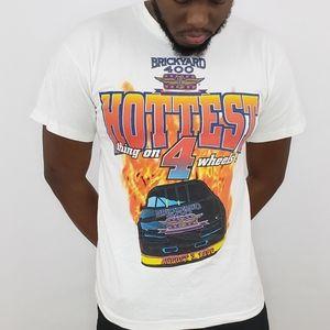 Vintage 90s Nascar Brickyard 400 tshirt